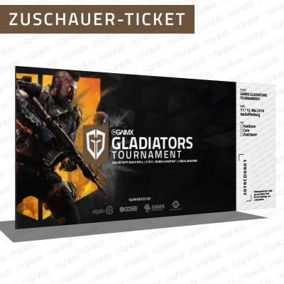 Zuschauer-Ticket Vorverkauf