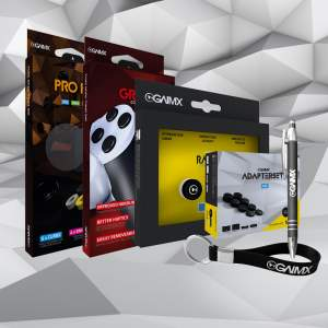 BUNDLE Profi GRABX + RAISX + PRO PACK + Adapterset + Merch