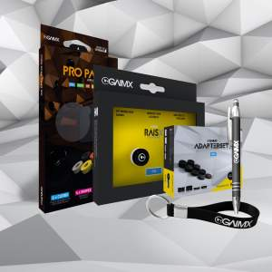 BUNDLE Semi RAISX + PRO PACK + Adapterset + Merch